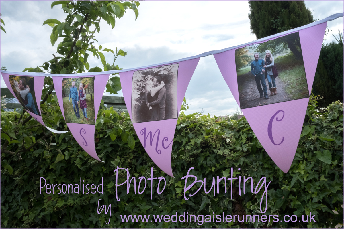 Wedding Photo Bunting By Aisle Runners