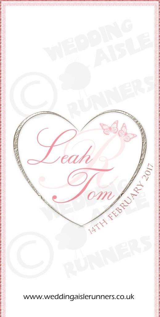 Leah & Tom wedding aisle runner