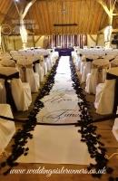 Carol Connolly wedding aisle runner