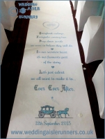 Faye-wedding aisle runner