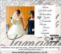 Mark & Samantha wedding aisle runner 3