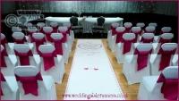 Michelle & Eddie wedding aisle runner 1