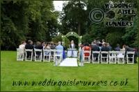 Rachael & Andrew wedding aisle runner 2