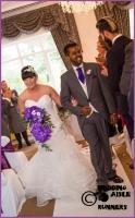 Victoria & Rajesh wedding aisle runner 2