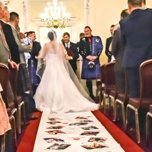 Lovestory 20 wedding aisle runner
