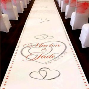 LUXURY design wedding aisle runner