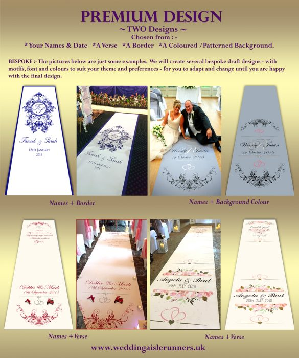 Premium Wedding Aisle Runner