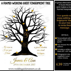 Fingerprint Tree -Alternative guest book